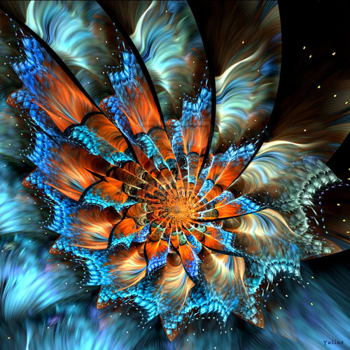 Fairy Flower fractal art