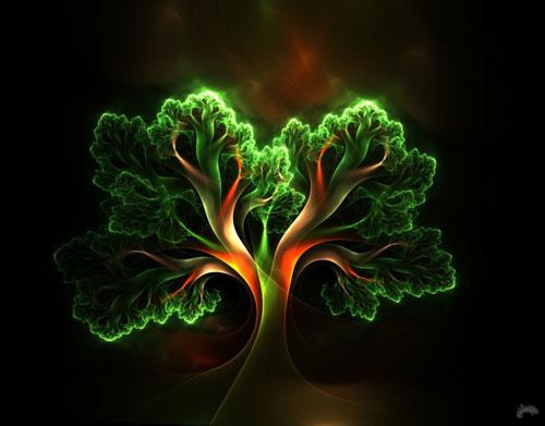 Fairy Tree fractal art