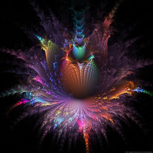Fleur D'apo fractal art