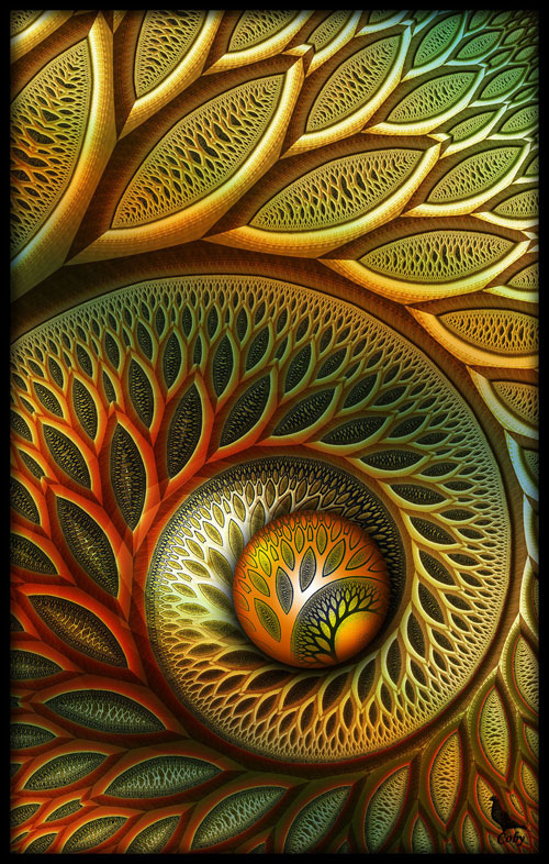 Flynn fractal art