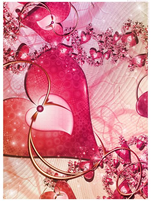 Love at first sight fractal art