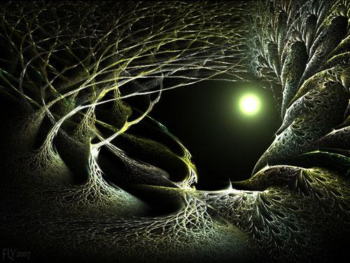Mirkwood Magic fractal art