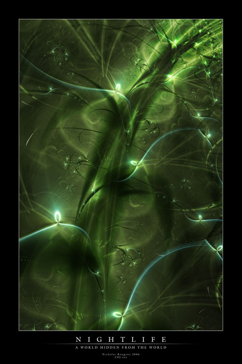 Nightlife fractal art