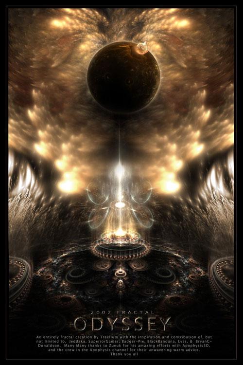 Odyssey fractal art