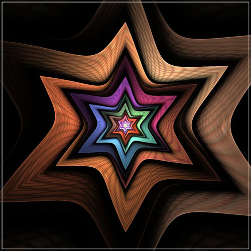 Starlight fractal art