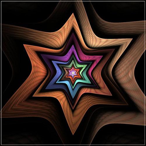 Starlight fractal art