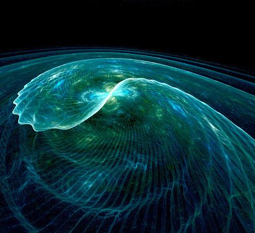 Surfs up fractal art