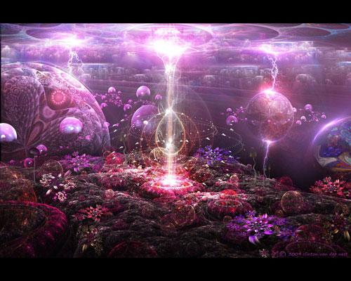 Finding Neverland fractal art