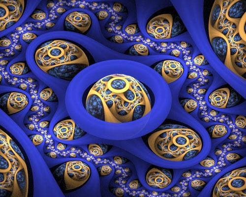 Mycology fractal art