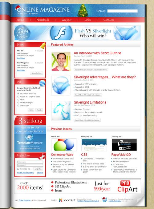 free joomla template - Free Joomla 7 in 1 Template