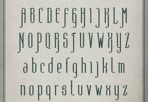 Absinthe Free font for download
