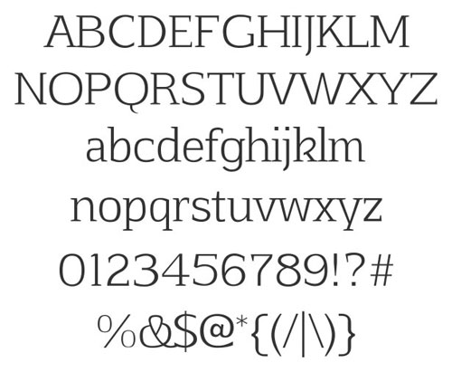 Afta Serif Free font for download