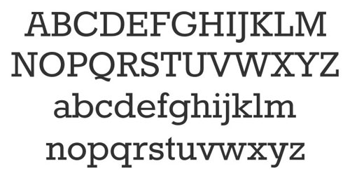Rokkitt Free font for download