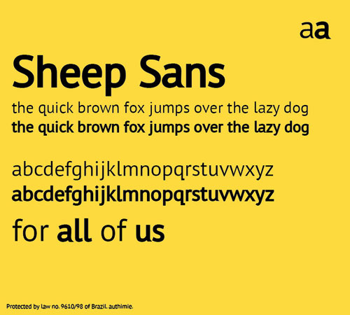 Sheep Sans Free font for download