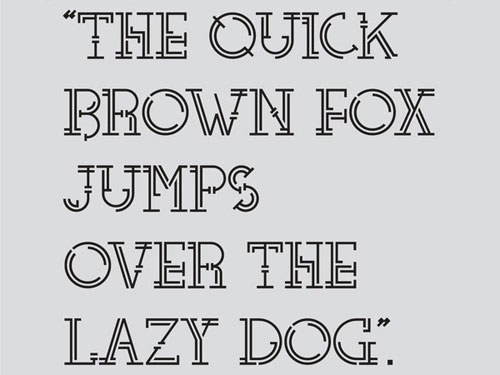 Teléfono Free font for download