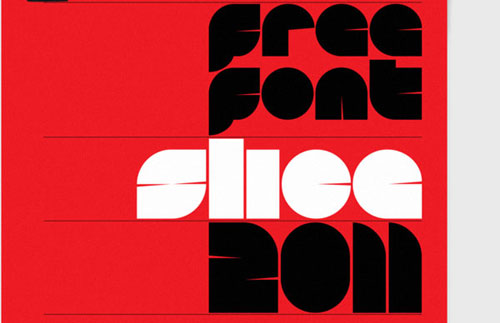 Slice Free font for download