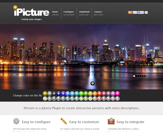 iPicture Tool for web designers and web developers