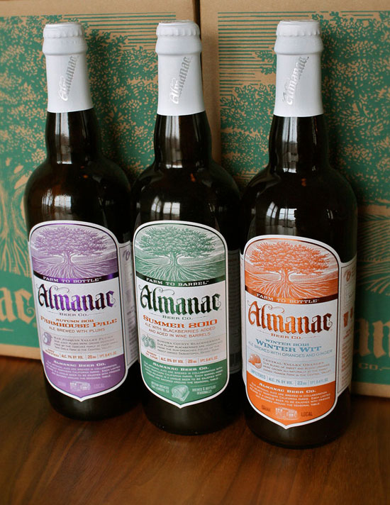 Almanac Beer Co Package Design Inspiration