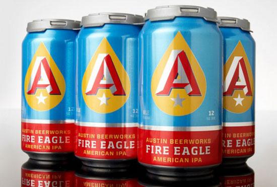 Austin Beerworks Package Design Inspiration