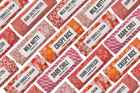 Chocolate Bar Package Design Inspiration