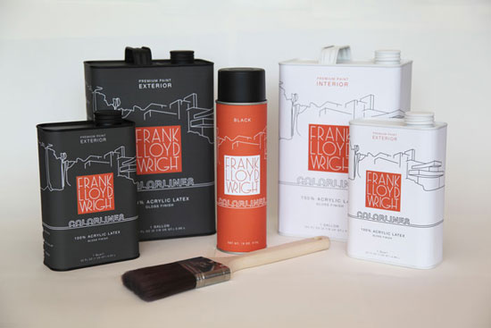 Frank Lloyd Wright Package Design Inspiration