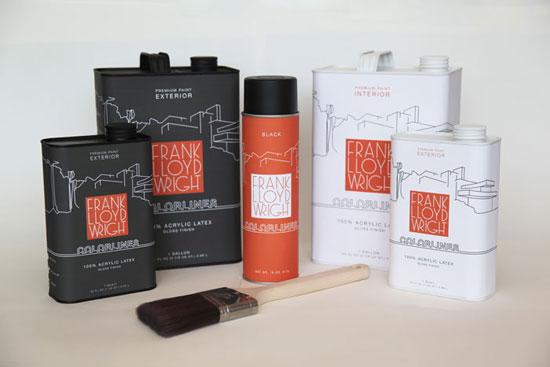 Frank Lloyd Wright Package Design Inspiration