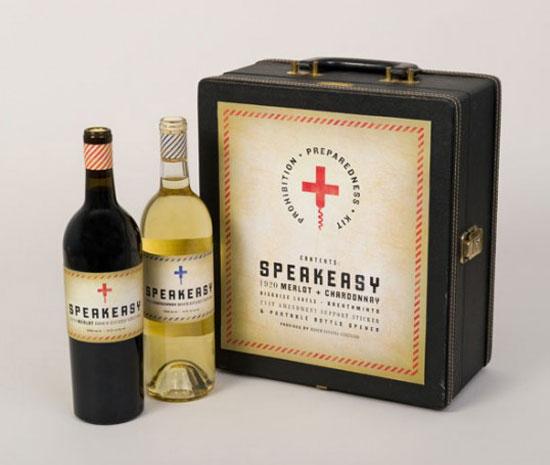 Hooch Estate Vineyard Package Design Inspiration