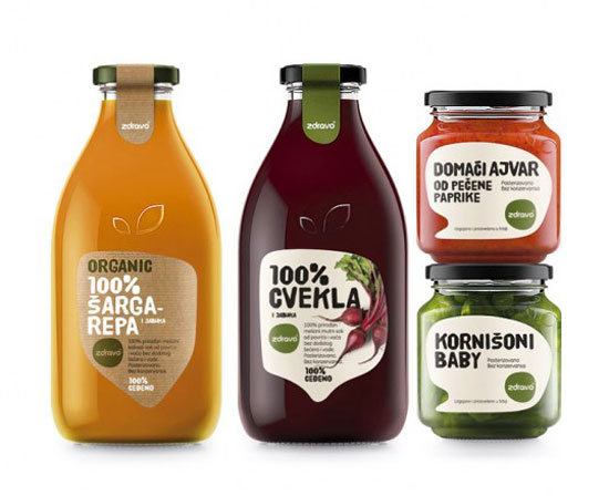Naturall & Zdravo Package Design Inspiration