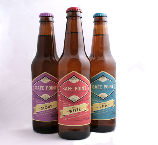 Safe Point Brewery Co Package Design Inspiration