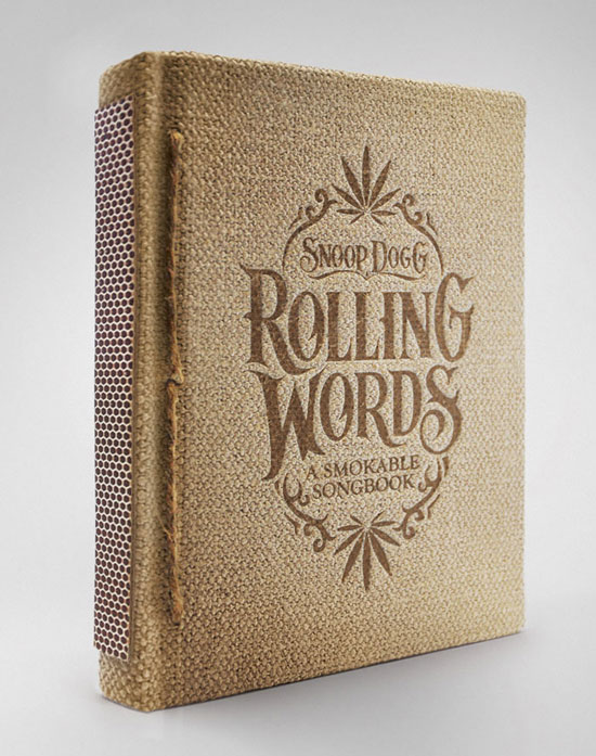 Snoop Dogg's Smokable Book Package Design Inspiration