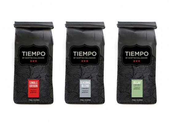 Tiempo Package Design Inspiration