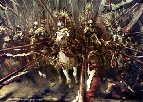Polish Hussars Drawing Illustration