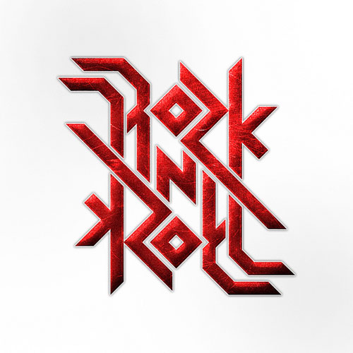Ambigram - Rock'n Roll Typography Inspiration