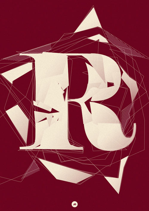 R Typography Inspiration