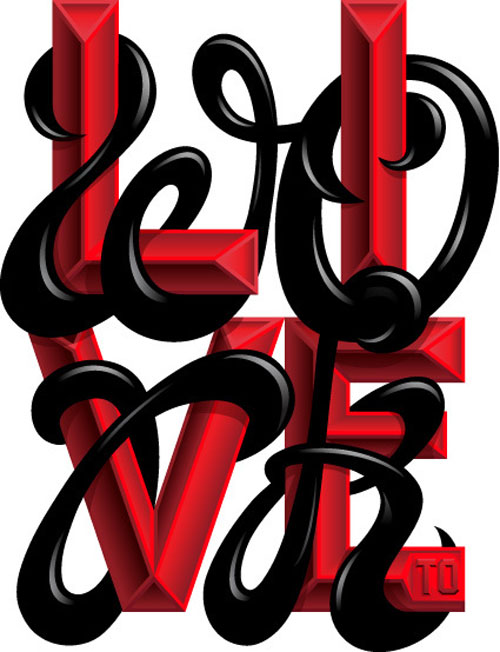 A Type of Show Exhibition- 'Live to Work' Typography Inspiration