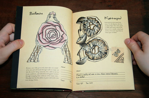 Fantastical Flora Typography Inspiration