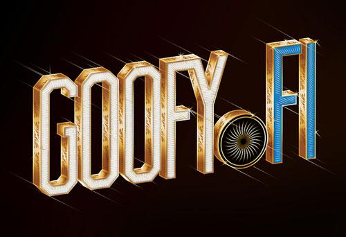 GOOFY x type treatments Typography Inspiration