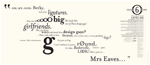 Who is Mrs Eaves? Typography Inspiration