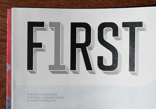 "Fortune Magazine, ""500"" Issue Typography Inspiration"