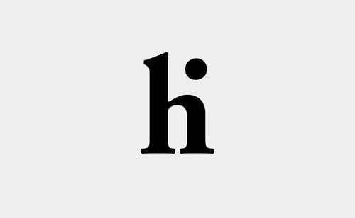 Hi Typography Inspiration