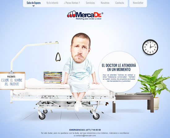 mercadr.com Site Design