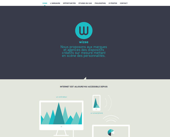 wizee.fr Site Design