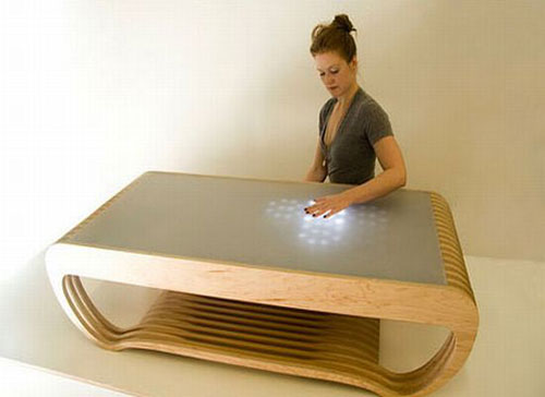 0rippleledtable2_pwRho_1822 Modern Furniture Design for a Contemporary  Interior (66 Pictures)