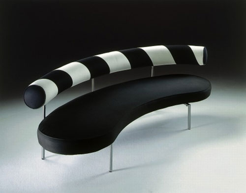 Max, A Black&White Stylish Sofa