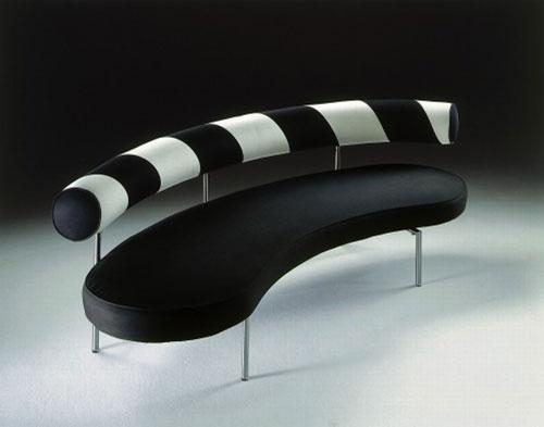 Max, A Black&White Stylish Sofa