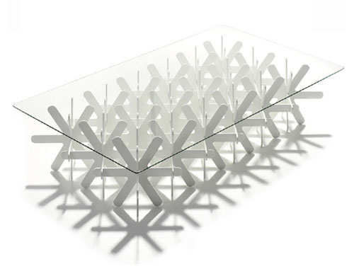 Snow Table Nendo