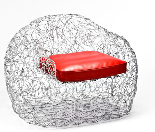 The Chrysalis Chair by Timothy Luscher