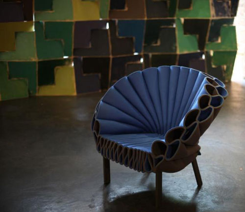 Dror for Cappellini: The Peacock Chair