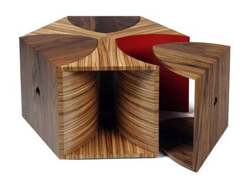Escher Coffee Table by Toby Howes
