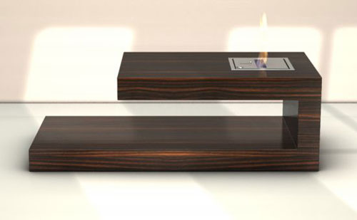 FIRE coffee table